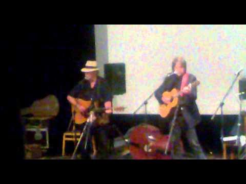 Mistři akustické kytary Beppe Gambetta a Dan Crary 2 Praha 26 05 2011