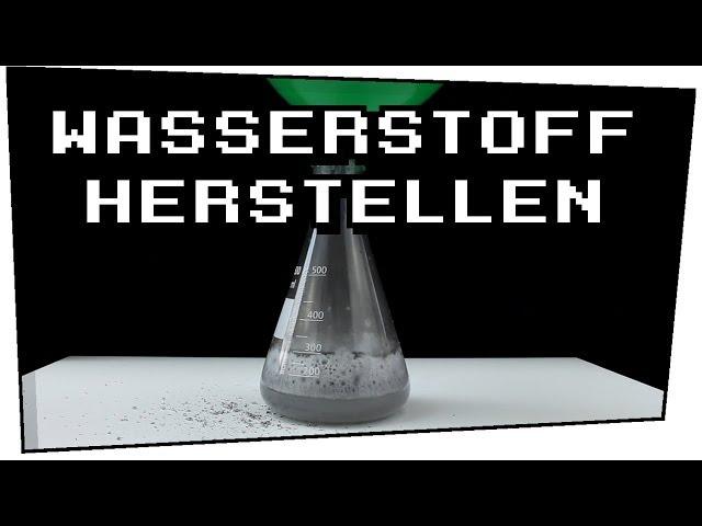 Mit Alufolie Wasserstoff herstellen? (Aluminium + Natronlauge) - Techtastisch #03