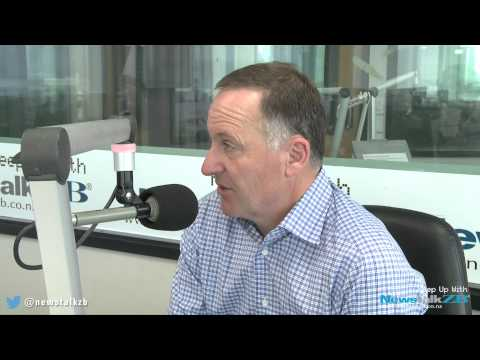 ZBTV: John Key on the Labour leadership