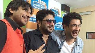 Arshad Warsi & Amit Sadh Promote 'Guddu Rangeela' @ Ajaz Khan's Radio Show On Fever 104 FM
