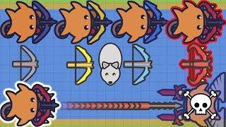 Moomoo.io - Flipper's Adventure to Ruby Crossbow (103 Kills, 125K)