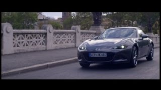 The new Mazda MX-5 RF in Rome