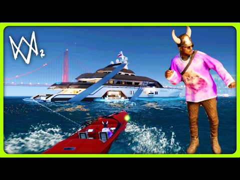 Watch Dogs  Yacht Location