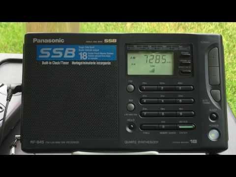 DX'pedition China Radio International 7285 khz Heard In Kingston, NY On Panasonic RF-B45