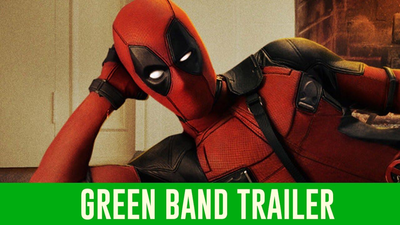 Deadpool Official Trailer #1 (Green Band)
