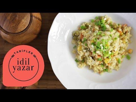 Karnabahar Pilavı Nasıl Yapılır? - İdil Tatari - Yemek Tarifleri