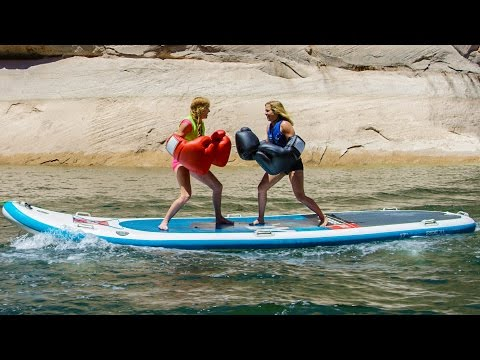 Paddle Board Boxing Behind The Scenes!