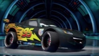 CARS ALIVE ! Cars 2 Gameplay - Carbon Fiber Lightning McQueen
