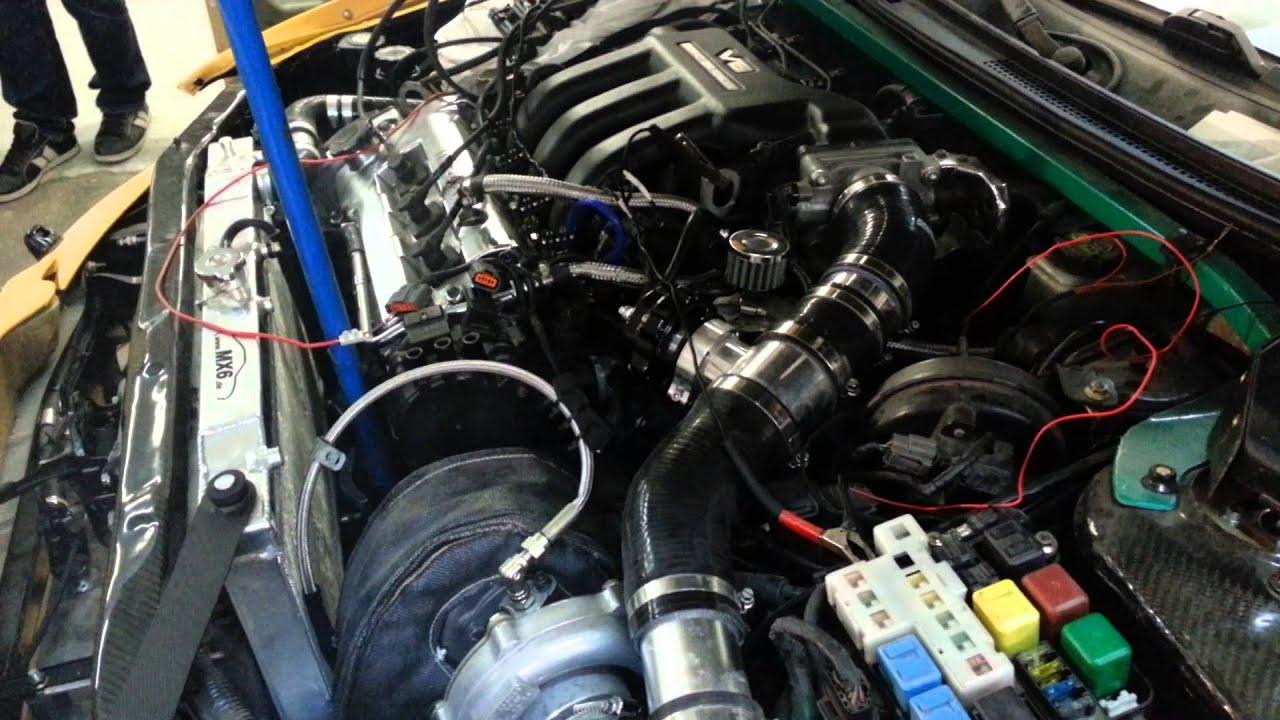 Mazda Mx 6 V6 Turbo Megasquirt 2v3 Coilpack Youtube