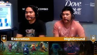 Execration vs HighGround Game 1 (BO3) l Joindota League season 13