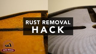 Rust Removal Hack - Easy and Inexpensive