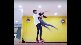 Ga Gha Megha Song dance with  #Hoverboard