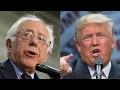 Lagu Trump vs. Sanders: Who paid a lower tax rate?
