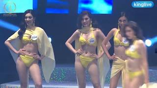 Nóng bỏng trước phần thi bikini của Ngọc Châu, Trương Mỹ Nhân tại cuộc thi MISS SUPRANATIONAL 2018