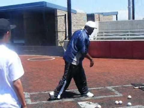 LEON LEE ON HITING A BASEBALL