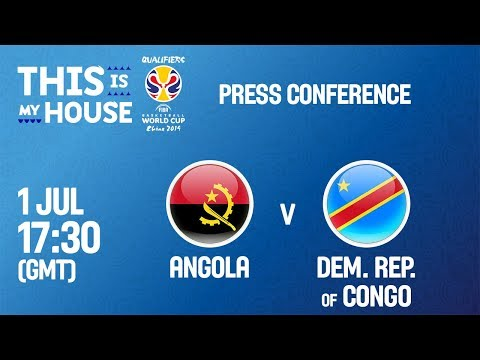 Angola v DR Congo - Press Conference - FIBA Basketball World Cup 2019 - African Qualifiers