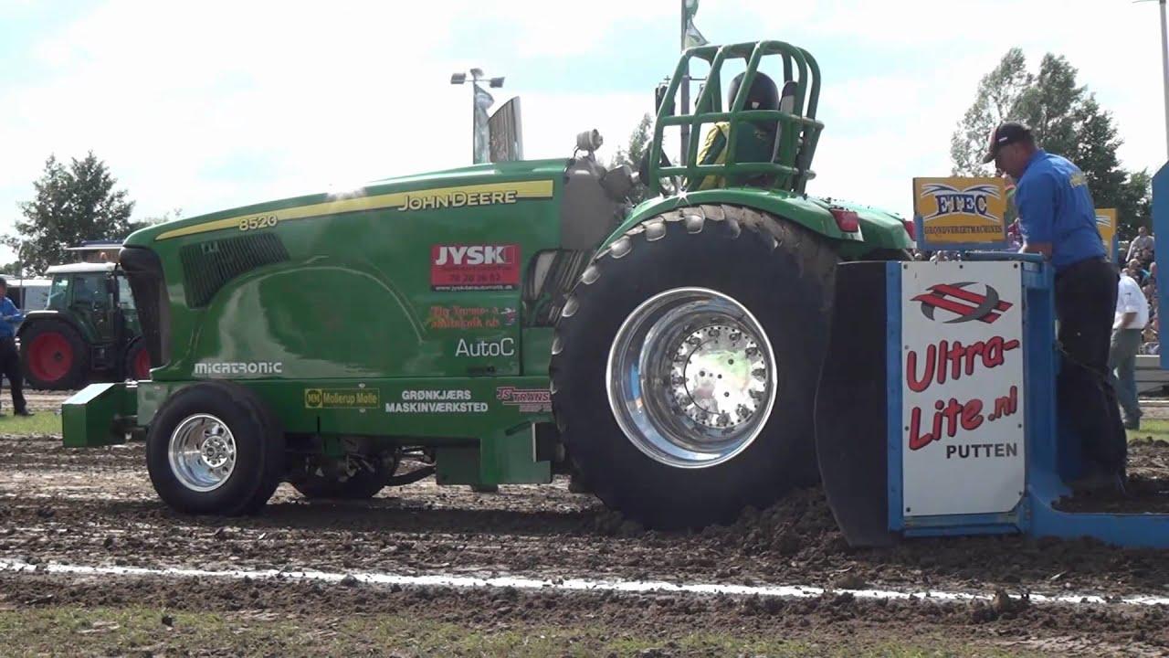 Pro Stock Pulling Tractors : John deere pro stock t putten tractor pulling