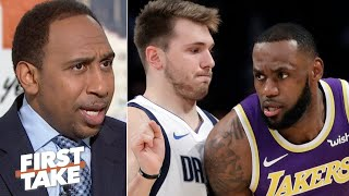 Why Stephen A. refuses to compare Luka Doncic to LeBron James | First Take
