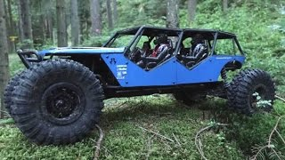 Axial Wraith XXL // 4 Seater Wraith Forest Crawling