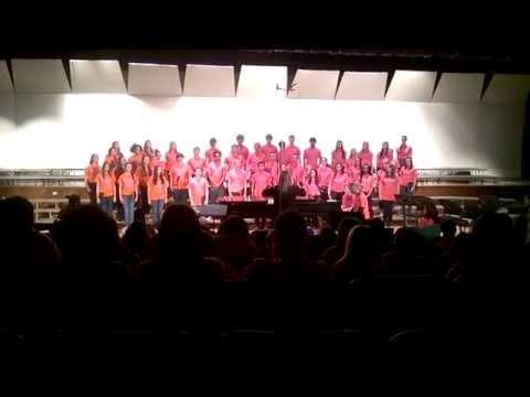 Willowbrook High School Concert Choir 2014-Walls of Jericho