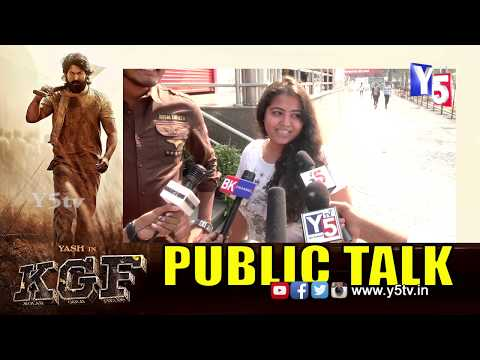 Telugu Audience Response On KGF Movie Telugu | KGF Movie Public Talk | Review & Rating| Y5 Tv