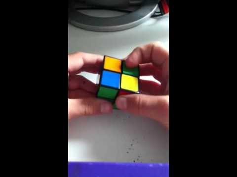 hur löser man en rubiks kub