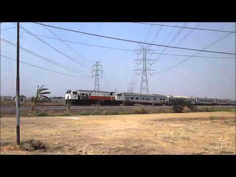 Amazing train horns!!!, Semboyan 35 panjang lokomotif CC206 Ft KA Harina