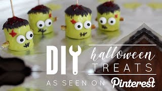 DIY No Bake Halloween Pinterest Desserts
