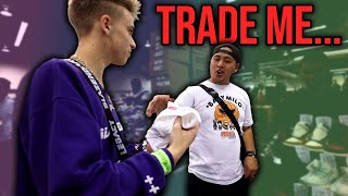 Buying a Supreme Tee then TRADING IT at Sneakercon... (Mini Trade-Up Challenge)