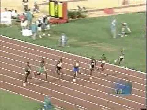 Donovan Bailey 100m Run (9.84)