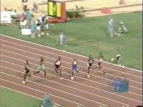 Donovan Bailey 100m Run (9.84)