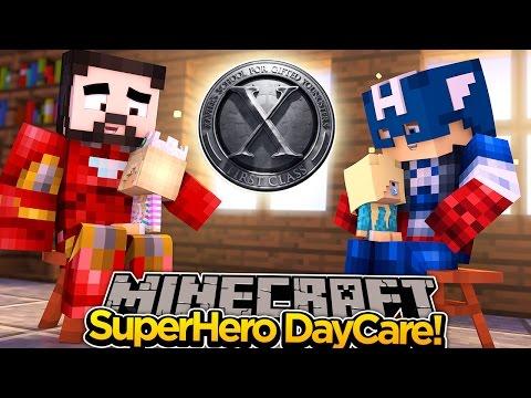 Minecraft Adventure - SUPER BABY'S NEW NAME & NEW SCHOOL!!!