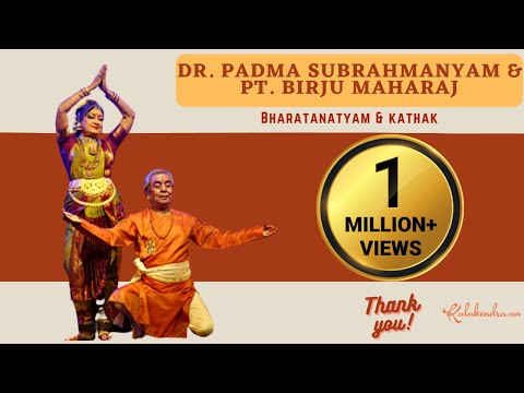 Bharatanatyam and Kathak by Padma Subrahmanyam & Pandit Sri....