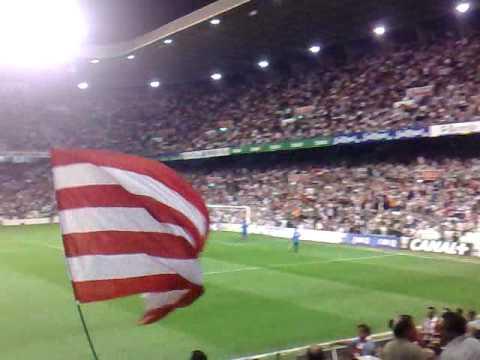 Athletic Club - Austria de Viena - Suena el himno del Athletic