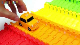Tayo the little bus toys learn colors learning videos for children