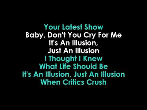 Julia Zahra  Just An Illusion lyrics Karaoke