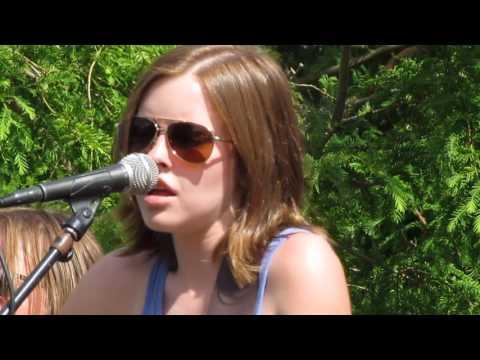 Callie Tomblin with the Jeff Stike Band, GDW at Farmapalooza 062417