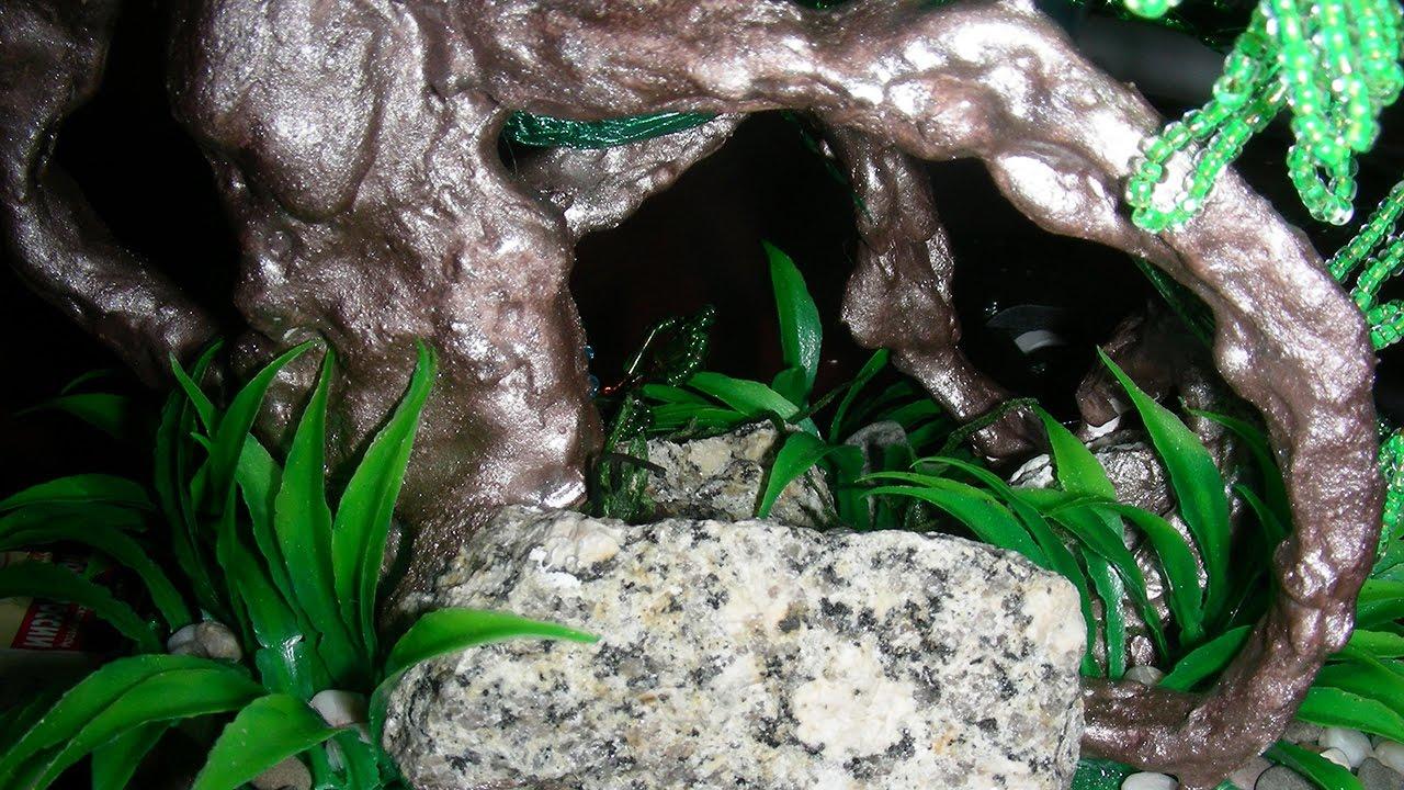 Плакучая ива из бисера своими