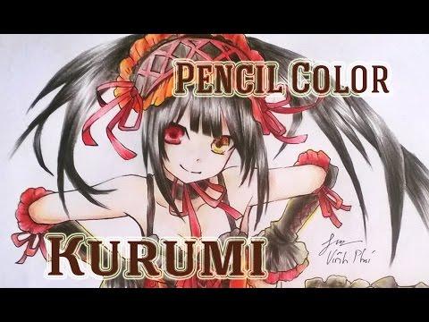 Draw Kurumi from Date a live