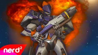 Overwatch vs Bon Jovi | Living On A Prayer | #NerdOut (Overwatch Music Video)