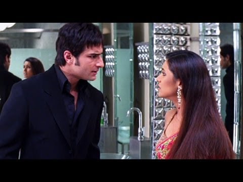 Karan! I Thought You Are My Friend - Scene - Hum Tum