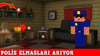 HIRSIZ VS POLİS #29 - Polis Elmasları Arıyor (Minecraft)