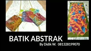 viral batik abstrak populer