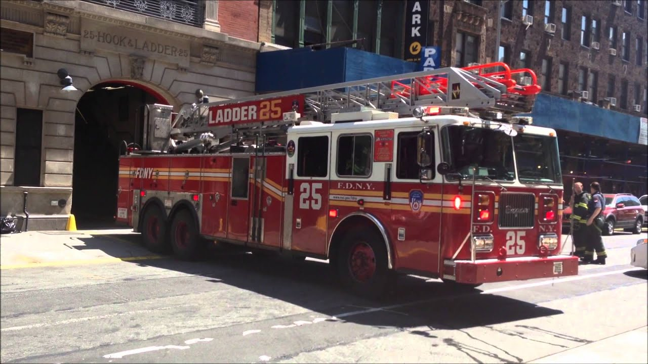 Fdny Ladder 25 Fdny Ladder 25 Returns to