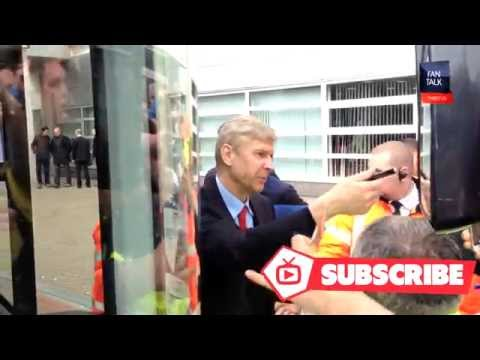 Ramsey, Sanogo, Monreal and Arsene Wenger meet the Fans
