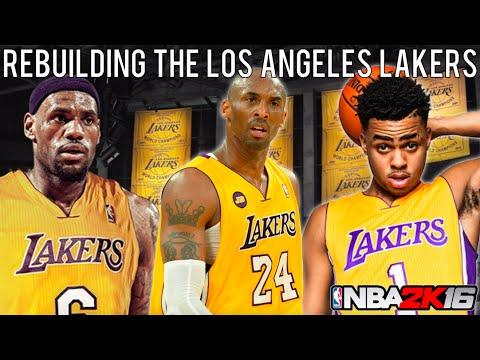 NBA 2K16 MyLEAGUE: Rebuilding the Los Angeles Lakers!
