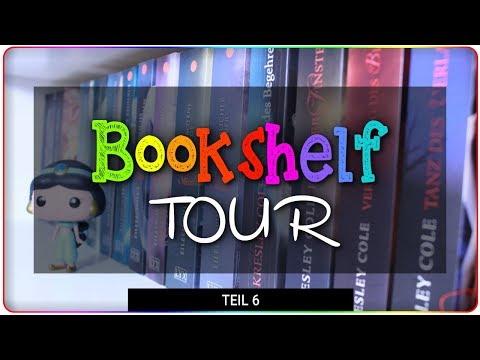 BOOKSHELF TOUR 2018 - großes Bücherregal Teil 6   regenbogengarten