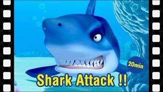 #22 Shark Attack!!   Kids movie   kids animation   Animated Short   Pororo Mini Movie
