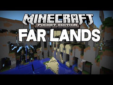 Minecraft PE FAR LANDS PE