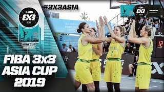 China v Australia | Women's Full Game | FIBA 3x3 Asia Cup 2019